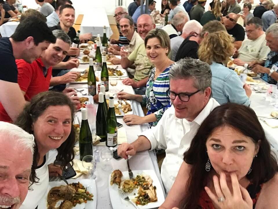 SOUVENIRS & ANECDOTES Dinner-Ben